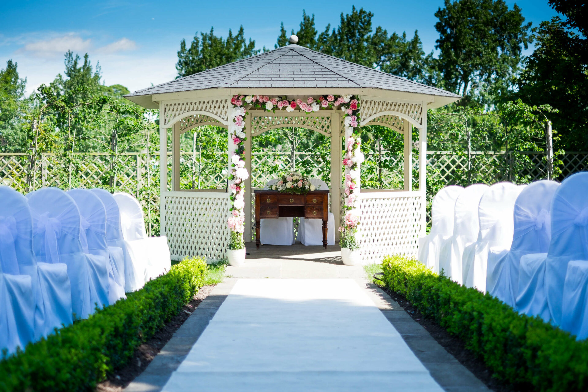 Outdoor Wedding Venue Warwickshire Warwick House
