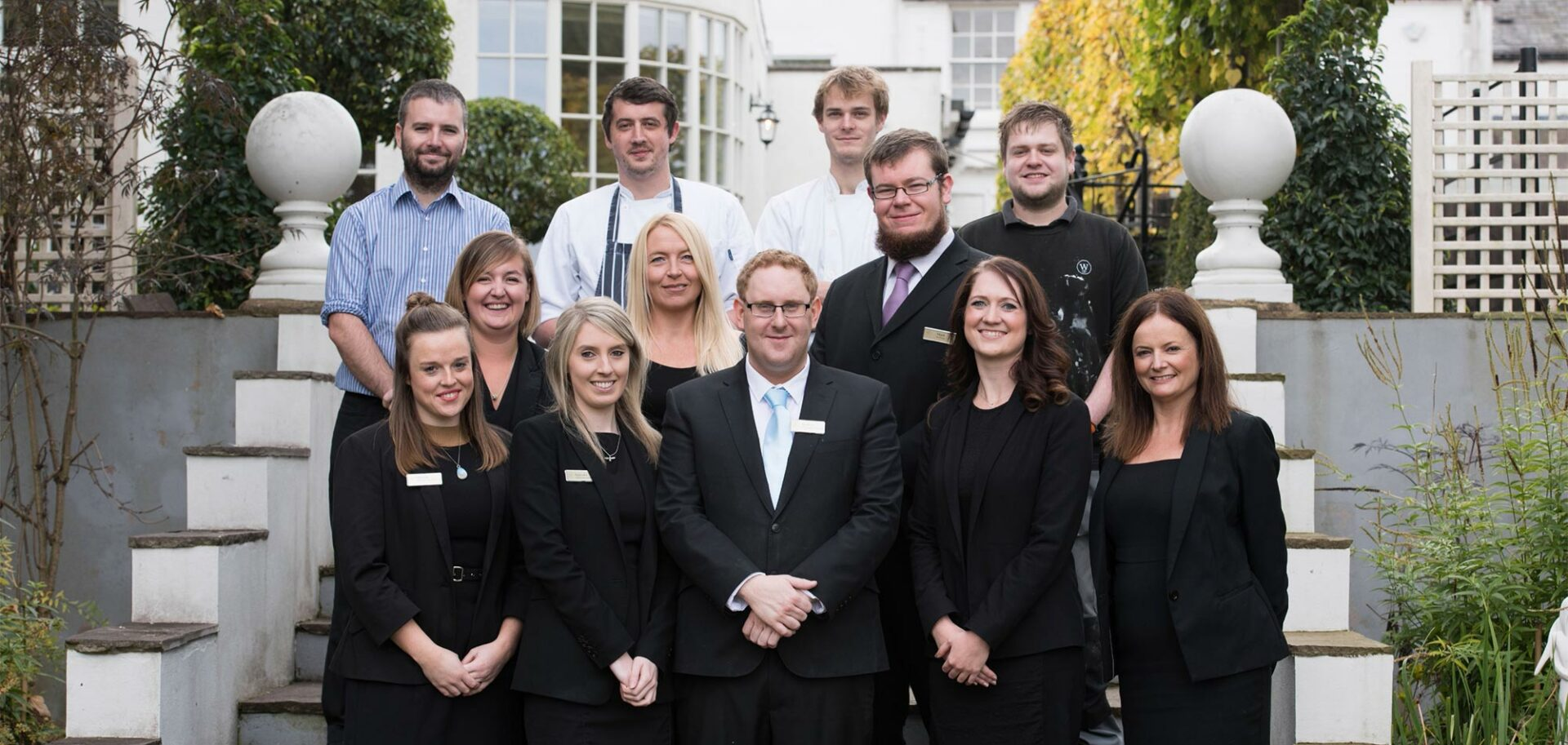 Warwick House team