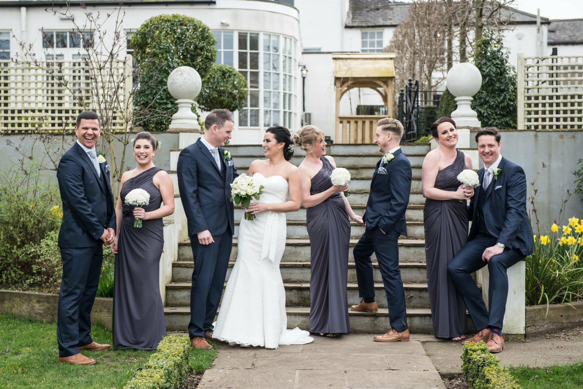 Black and White Weddings in Warwick