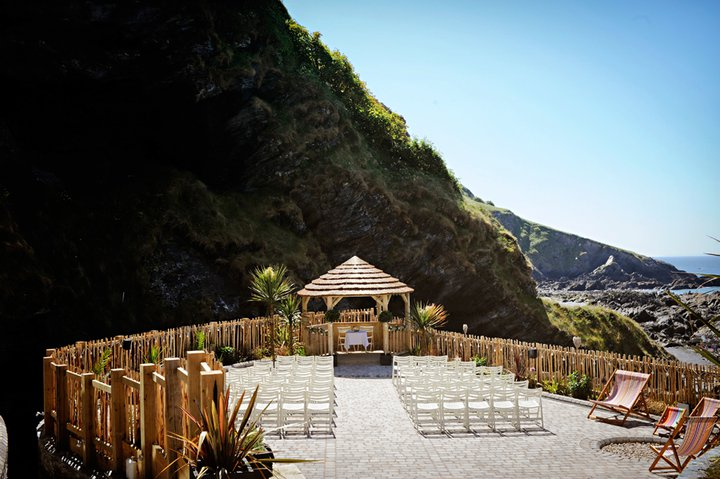 wedding abroad outdoor seating