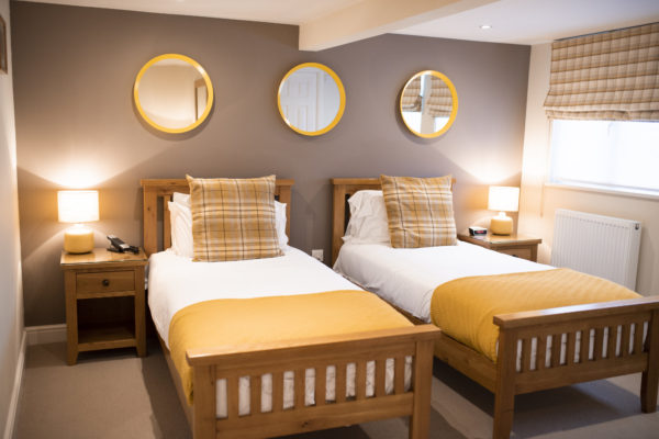 Twin Bedroom at Warwick House