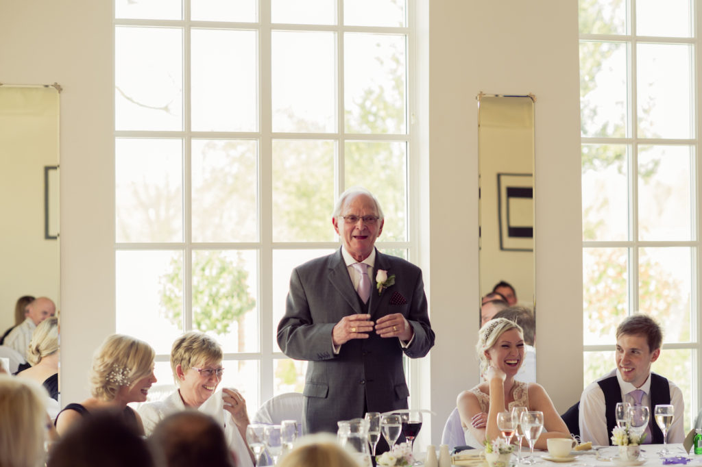 Father of Bride Speech at Warwick House