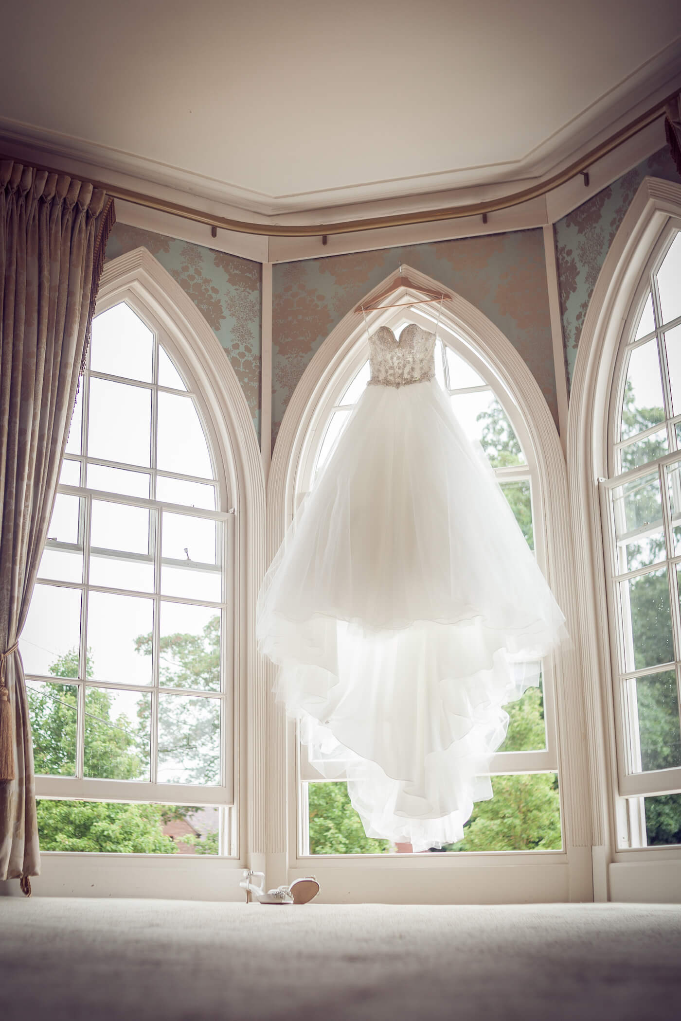 Bridal Gown at Warwick House