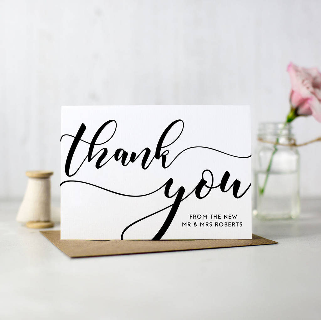What To Write In Your Thank You Cards